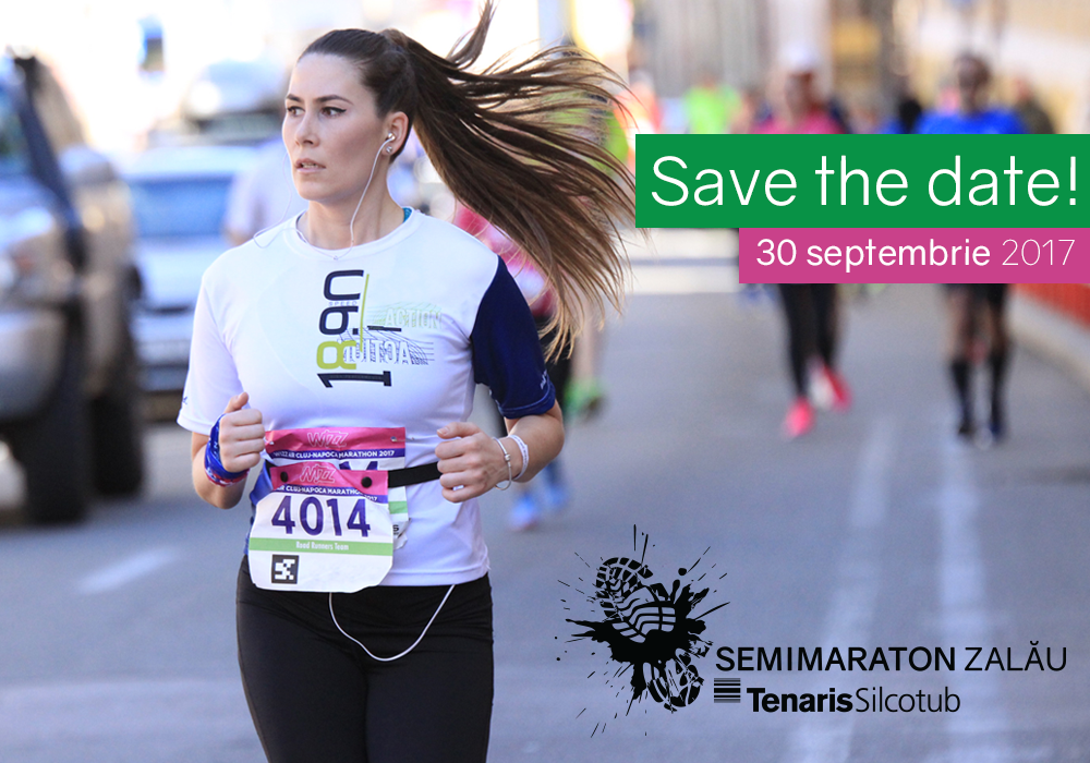 Save the date: 30 septembrie | Semimaraton Zalău TenarisSilcotub