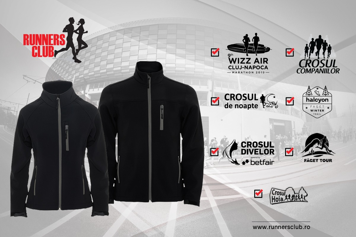 Windstopper cadou Runners Club