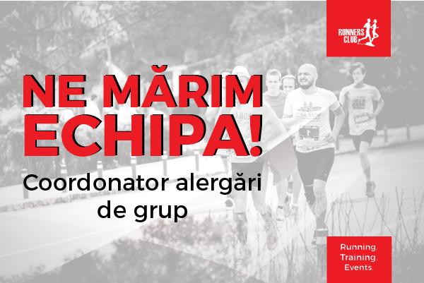 Coordonator alergări de grup Runners Club