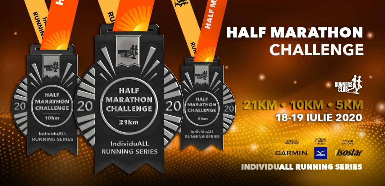 Medalia IndividuALL Running Series: Half Marathon Challenge