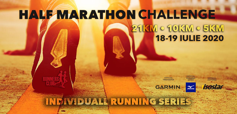 Rezultate live IndividuALL RUNNING SERIES: HALF MARATHON CHALLENGE
