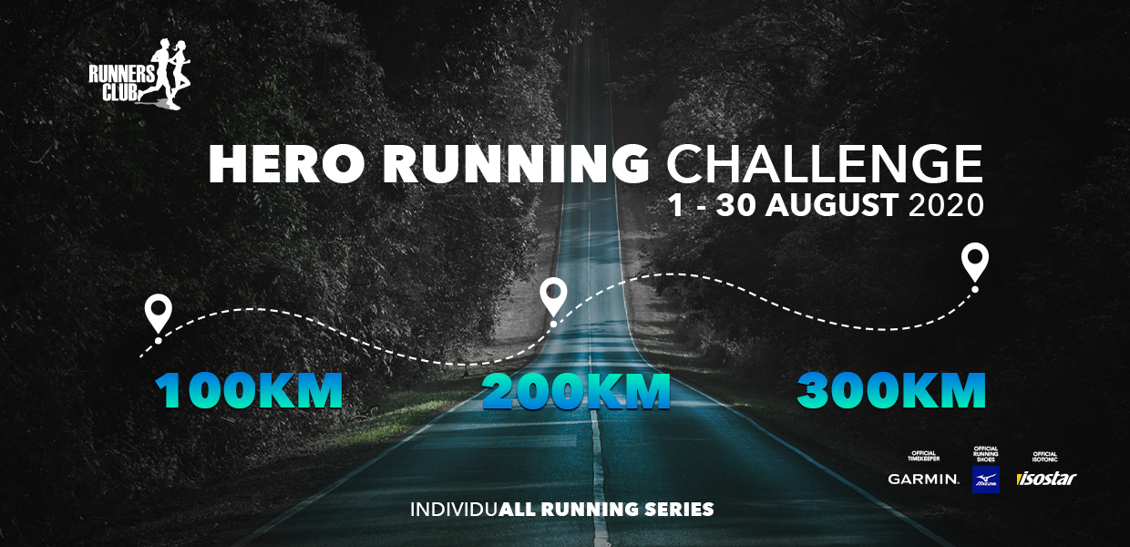 ÎNSCRIERI DESCHISE la IndividuALL RUNNING SERIES: Hero Running Challenge